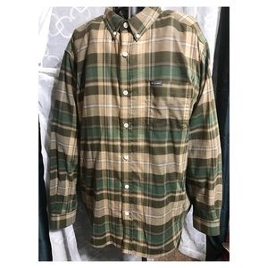 Columbia button up plaid flannel